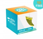 Box of 10 surfboard fins  Air Fresheners