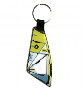 DuoTone Super Hero Sail Keychain