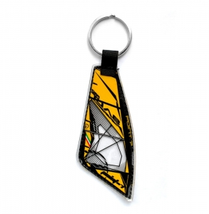 Point7 Salt Pro Yellow Keychain