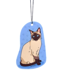 Siamese Cat - Car Air Freshener