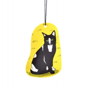 The Roofer Cat - Car Air Freshener
