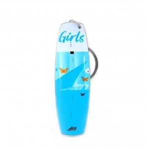 Crazy Fly Girls Board Keychain