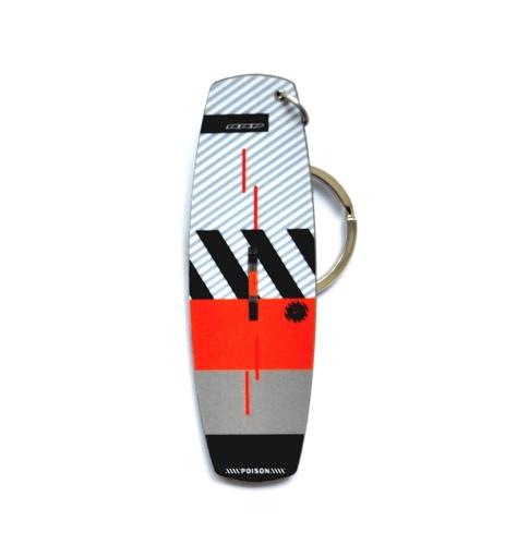 Keyring Kitesurfing Kiteboard Keychain Board shape