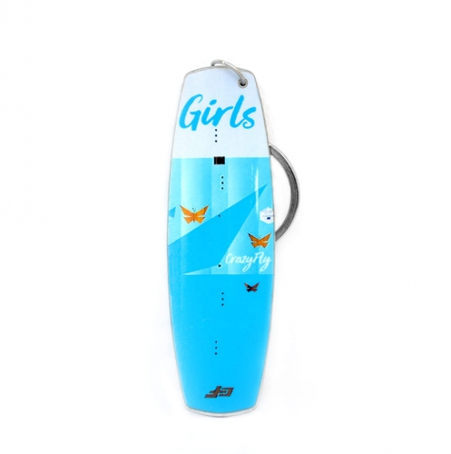 Crazy Fly Girls Keychain