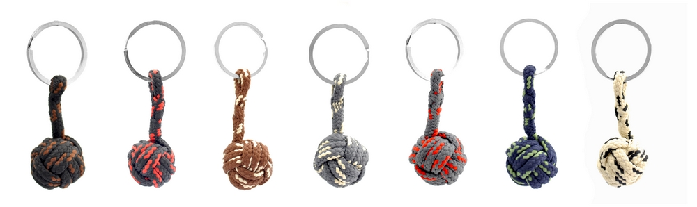 Monkey Fist Key Fobs